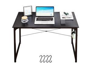 40'' Study Writing Desk Small Computer Desk Home Office Desk Gaming Desk Modern Simple Desk