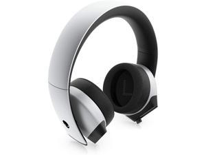 7.1 PC Gaming Headset AW510H-Light: 50mm Hi-Res Drivers - Noise Cancelling Mic - Multi Platform Compatible(PS4,Xbox One,Switch) via 3.5mm Jack, Gray