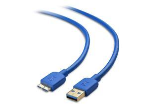 Cable Matters Micro USB 3.0 Cable (USB to USB Micro B Cable) in Blue 6 ft