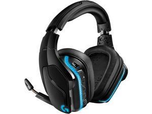 Logitech G935 Wireless DTS:X 7.1 Surround Sound LIGHTSYNC RGB PC Gaming Headset - Black blue (Renewed)