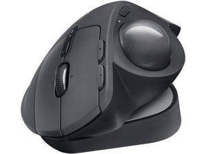 Logitech MX ERGO Plus Wireless Trackball Mouse 2048 dpi Optical Sensor 8 Buttons 4-Way Scroll Wheel 910-005178 (Renewed)