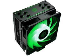 ID-COOLING SE-224-XT RGB CPU Cooler AM4 CPU Cooler 12V 4PIN RGB Cooler 4 Heatpipes CPU Air Cooler 120mm PWM Fan Intel/AMD