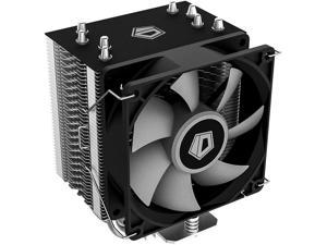 ID-COOLING SE-914-XT-Basic CPU Cooler 126mm Height AM4 CPU Cooler 4 Heatpipes CPU Air Cooler 92mm PWM Fan Air Cooling for Intel/AMD