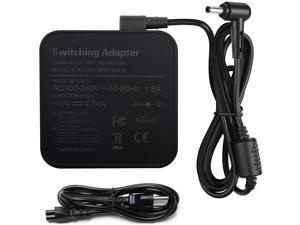 90W 19V 4.74A AC Charger for ASUS Q524 Q524U Q524UQ Q534 Q534U Q534UX UX51VZA UX51VZ UX51V U500VZ U500V Q524UQ-BBI7T1 Laptop Power Cord