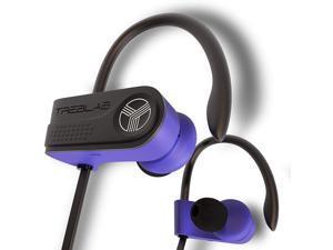 TREBLAB XR700 PRO Wireless Running Earbuds - Top 2019 Sports Headphones Custom Adjustable Earhooks Bluetooth 5.0 IPX7 Waterproof Rugged Workout Earphones Noise Cancelling Microphone In-Ear Headset