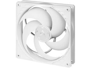 ARCTIC P14 PWM - 140 mm Case Fan with PWM Pressure-optimised Quiet Motor Computer Fan Speed: 200-1700 RPM - White/White ACFAN00222A