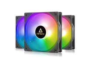 Antec RGB Fans 120mm Case Fan PC Fan High Performance 4-pin RGB P12 Series 3 Packs