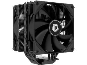 ID-COOLING SE-225-XT Black CPU Cooler AM4 CPU Cooler 5 Heatpipes CPU Air Cooler 2x120mm Push-Pull PWM Fan Air Cooling for Intel/AMD