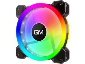 GIM KB-23 RGB Case Fan 120mm Fan Single Pack