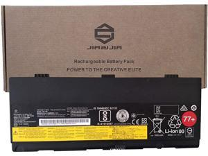 JIAZIJIA 01AV477 Laptop Battery Replacement for Lenovo ThinkPad P50 P51 P52 Series Notebook 77+ SB10H45077 00NY492 00NY493 SB10H45078 Black 11.4V 90Wh 7900mAh