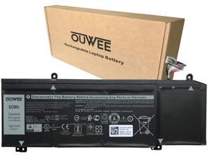 OUWEE 1F22N Laptop Battery Compatible with Dell Alienware M15 M17 R1 G7 7590 7790 G5 5590-D2783W D2743B D2865B D2863W D2842W D2843W Series Notebook 0JJPFK 08622M XRGXX 06YV0V 15.2V 60Wh 3750mAh 4-Cell