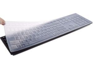 DELL KM636 Keyboard Cover Skins Compatible with Dell KB216 Wired Keyboard & Dell Optiplex 5250 3050 3240 5460 7450 7050 & Dell Inspiron AIO 3475/3670/3477 All-in one Desktop