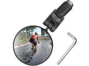 Bike Mirror Handlebar Mount Bicycle Rear View Mirror Bicycle Mirror for Handlebars Convex Bicycle accessories for Mountain Road Bike Helmet Mirror for Cycling