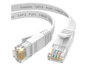 Ethernet Cable 15 ft, Cat6e/Cat6 Patch Cable with Snagless Rj45 Connector for Ethernet Splitter, PS4, Xobx, High Soft LAN Cable More Flexible Than Cat5e/Cat5 …