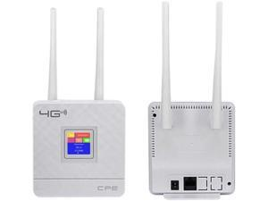 5G 2.4G 4G LTE WiFi Router CPE Router Support for 20 Users with SIM Card Slot Wireless Wired Router