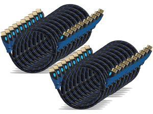Aurum Ultra Series - High Speed HDMI Cable with Ethernet 20 Pack 2 Ft - Supports 3D & Audio Return Channel [Latest Version] - 2 Feet - 20 Pack