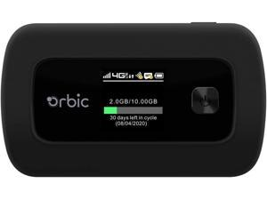 Orbic Verizon Speed Mobile Hotspot | 4G LTE |Connect up to 10 Wi-Fi Enabled Devices | Up to 12 hrs of Usage time |Up to 5 Days of Stand-by time | Great for Remote Workers