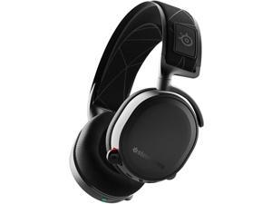 SteelSeries Arctis 7 Black Over the Ear Wireless Gaming Headset - PC - 61463 (Renewed)