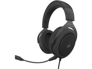 Corsair HS60 Pro &ndash 7.1 Virtual Surround Sound PC Gaming Headset w/USB DAC - Discord Certified Headphones &ndash Compatible with Xbox One PS4 and Nintendo Switch &ndash Carbon (Renewed)
