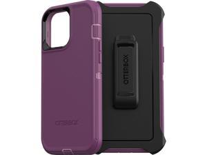 OtterBox Defender Series SCREENLESS Edition Case for iPhone 13 Pro Max & iPhone 12 Pro Max - Happy Purple