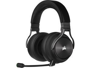 CORSAIR Virtuoso RGB Wireless XT High-Fidelity Gaming Headset with Bluetooth and Spatial Audio - Works with Mac PC PS5 PS4 Xbox Series X/S - Slate