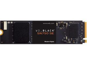 WD_BLACK 1TB SN750 SE NVMe Internal Gaming SSD Solid State Drive - Gen4 PCIe M.2 2280 Up to 3 600 MB/s - WDS100T1B0E