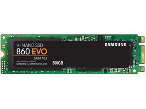Samsung SSD 860 EVO 500GB M.2 SATA Internal SSD (MZ-N6E500BW)