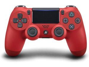 Red Wireless Controller for PS4 Remote Joystick for Playstation 4 Control with Dualshock and Charging Cable