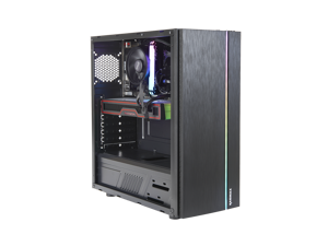 SFT Spatha VR Gaming PC, AMD Ryzen 5 3600, RX 6700 XT, 16GB DDR4, 500G SSD, Win 10 Home, WiFi Ready