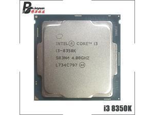 Intel Core i3-8350K i3 8350K 4.0 GHz Quad-Core Quad-Thread CPU Processor 8M 91W LGA 1151
