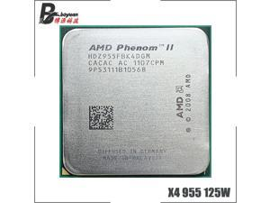AMD Phenom II X4 955 955 3.2 GHz Quad-Core CPU Processor 125W HDZ955FBK4DGM / HDX955FBK4DGI / HDZ955FBK4DGI Socket AM3