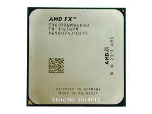 AMD FX-Series FX-6100 FX 6100 FX6100 3.3 GHz Six-Core CPU Processor FD6100WMW6KGU Socket AM3+