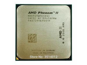 AMD Phenom II X4 925 95W 2.8 GHz Quad-Core CPU Processor HDX925WFK4DGI./HDX925WFK4DGM  Socket AM3