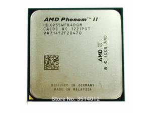 AMD Phenom II X4 955 3.2 GHz 95w Quad-Core CPU Processor HDX955WFK4DGM/HDX955WFK4DGI Socket AM3