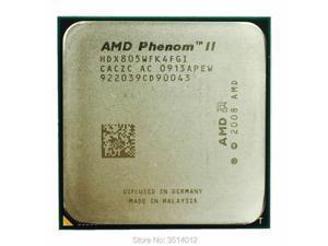 AMD Phenom II X4 805 2.5 GHz Quad-Core CPU Processor HDX805WFK4FGI Socket AM3
