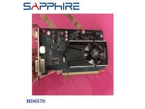 Video Cards HD6570 1GB GDDR3 AMD Graphics Card GPU Radeon HD 6570 1GHM 512MB Office Computer For AMD Card Map HDMI