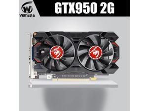 Graphics Card l gtx 950 2GB 128Bit GDDR5 Graphics Card for nVIDIA Geforce GTX 950 Hdmi Dvi VGA Card