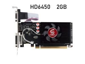 HD6450 GPU Veineda Desktop Graphics Cards hd6450 2GB DDR3 HDMI Graphic Video Card PCI Express For ATI Radeon Gaming