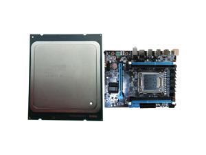 Six-Core Twelve-Thread CPU Processor 15M 95W LGA 2011 with X79 Desktop Computer Motherboard LAG2011 M.2 Interface