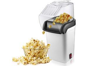 Air Popcorn Popper Maker, Electric Hot Air Popcorn Machine-1200W, Oil-Free US Plug