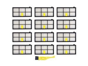 Replacement Roomba 960 Filters,13 Pcs Hepa Filter for IRobot Roomba 800 Series 900 Vacuum Cleaner Accessories