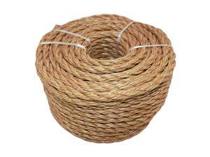 """Twisted ProManila - UnManila, Twisted 3 Strand, Lightweight Synthetic Rope for DIY Projects, Marine, Commercial (1.5"""" x 10ft)"""