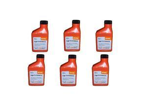 0781 319 8015 High Performance 2-Cycle Engine Oil, 6.4oz, Pack Of 6