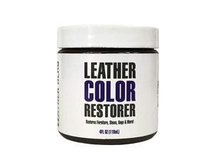 Color Restorer & Applicator- Repair, Recolor, Renew & Vinyl Sofa, Purse, Shoes, Auto Car Seats, Couch-4oz (Beige)