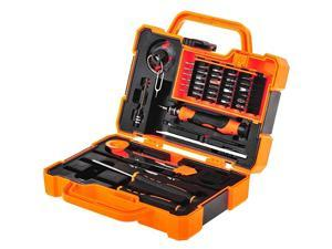 Precision 45 in 1 Screwdriver Set Repair Maintenance Kit Tools for iPhone, iPad, Samsung Cell Phone,Tablet PC, Laptop,Computer and Other Electronic Device (45 in 1)