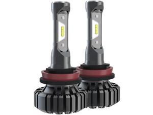 H11 H8 H9 LED Headlight Bulb Seoul Chips 2000LM 6000K Extremely Bright Halogen Replacement Car Headlamp IP67 Waterproof High/Low Beam Car Fog Light All-in-one Conversion Kit (2 Pack)