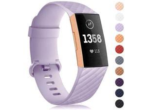 Silicone Diamond Bracelet Wrist Strap Replacement Band For Watch  Charge 3
