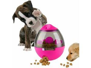 Pet Dog Puppy IQ Test Treat Ball Interactive Food Dispensing Toy Food Feeder