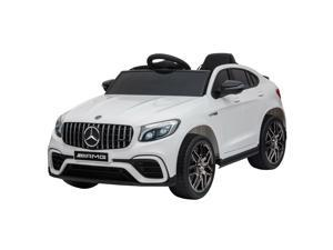 Licensed Kids Ride-On Car 12V Suspension Wheel with Remote Control White