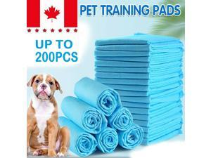 200 LARGE PUPPY TRAINING TRAINER PADS TOILET PEE WEE MATS DOG CAT 60X60 CM PET